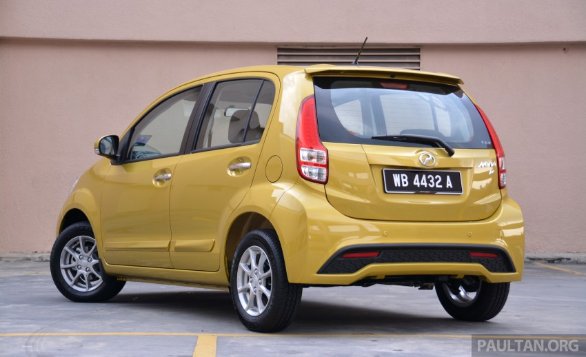 2015 Perodua Myvi – 1.5 Advance vs 1.3 Premium X Image #304985