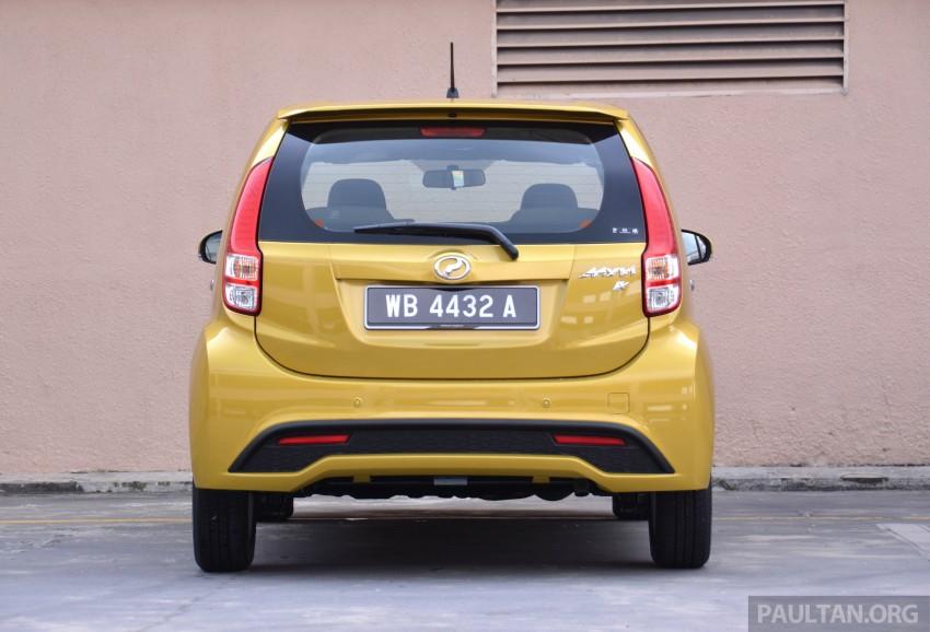 2015 Perodua Myvi – 1.5 Advance vs 1.3 Premium X Image #304987
