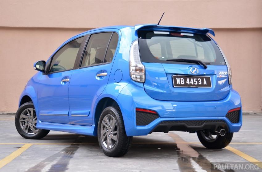 2015 Perodua Myvi – 1.5 Advance vs 1.3 Premium X Image #305010