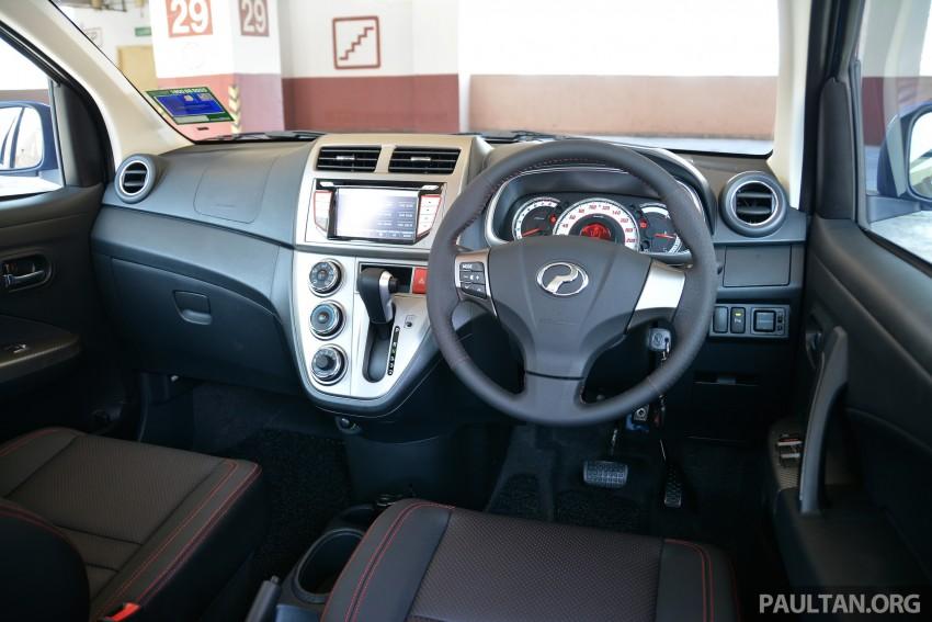 GALLERY: 2015 Perodua Myvi facelift vs Proton Iriz Image #304880