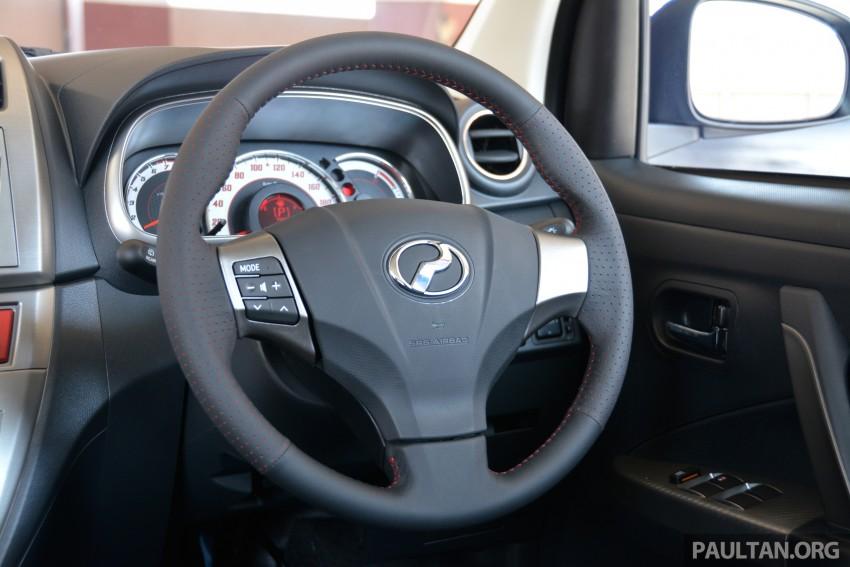 GALLERY: 2015 Perodua Myvi facelift vs Proton Iriz Image #304882
