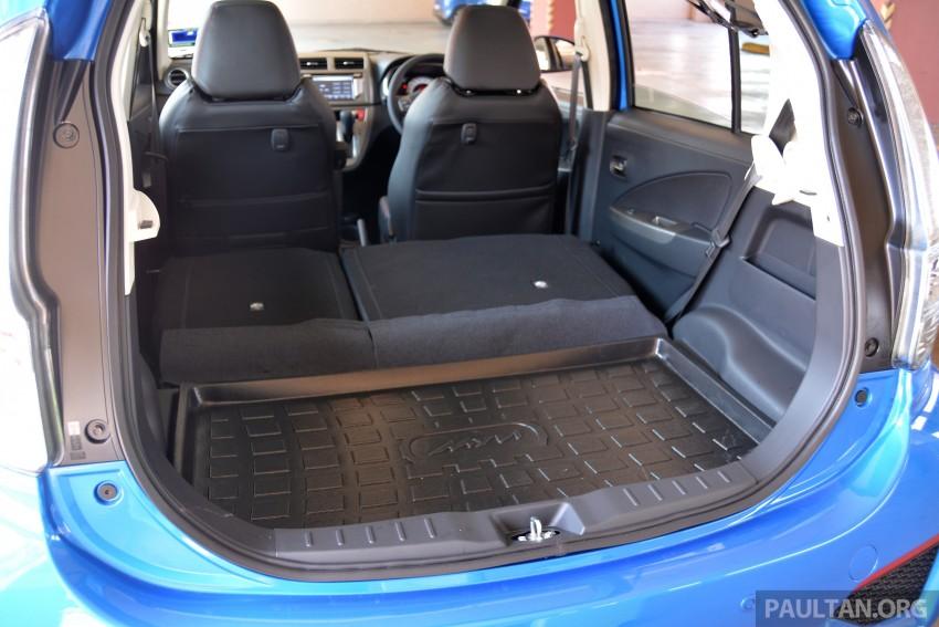 GALLERY: 2015 Perodua Myvi facelift vs Proton Iriz Image #304897