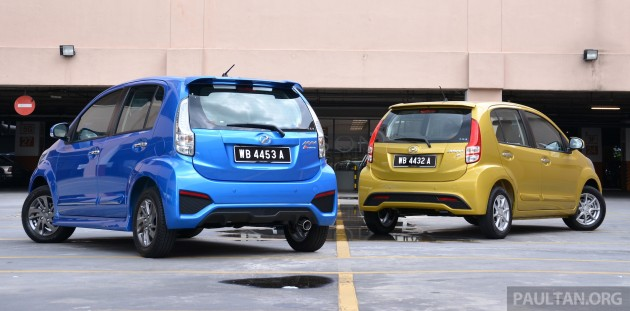2015_Perodua_Myvi_Facelift_Premium_X_vs_Advance_ 02