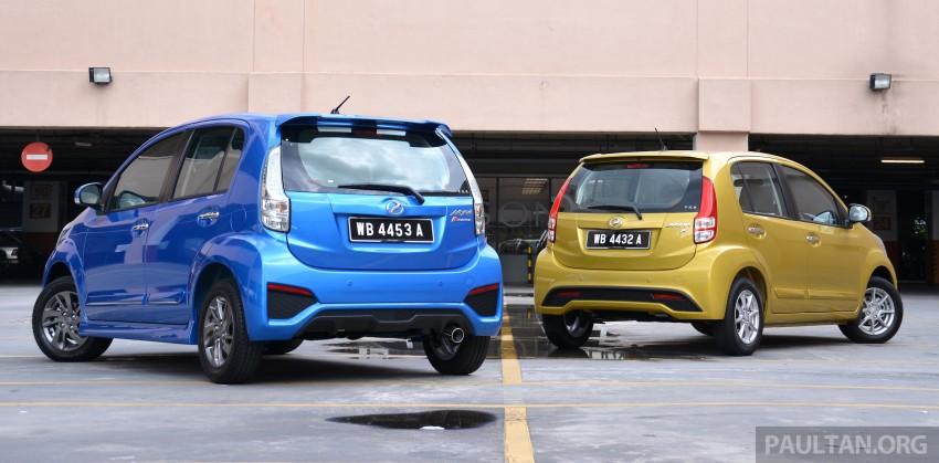 2015 Perodua Myvi – 1.5 Advance vs 1.3 Premium X Image #304976