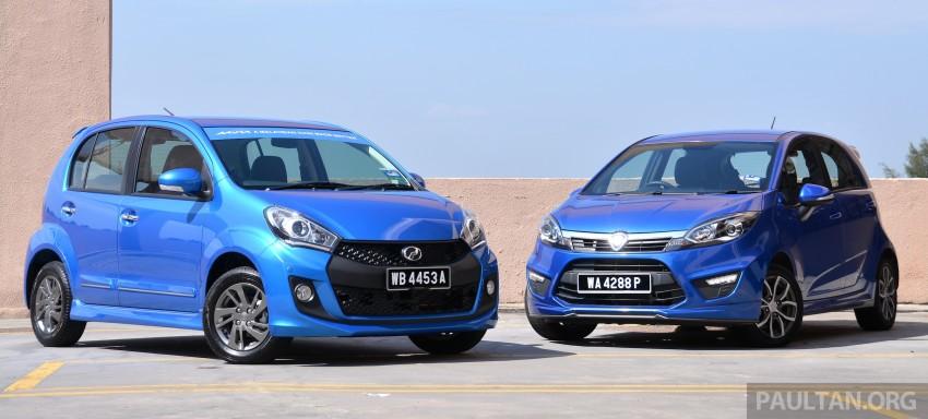 GALLERY: 2015 Perodua Myvi facelift vs Proton Iriz Image #304695