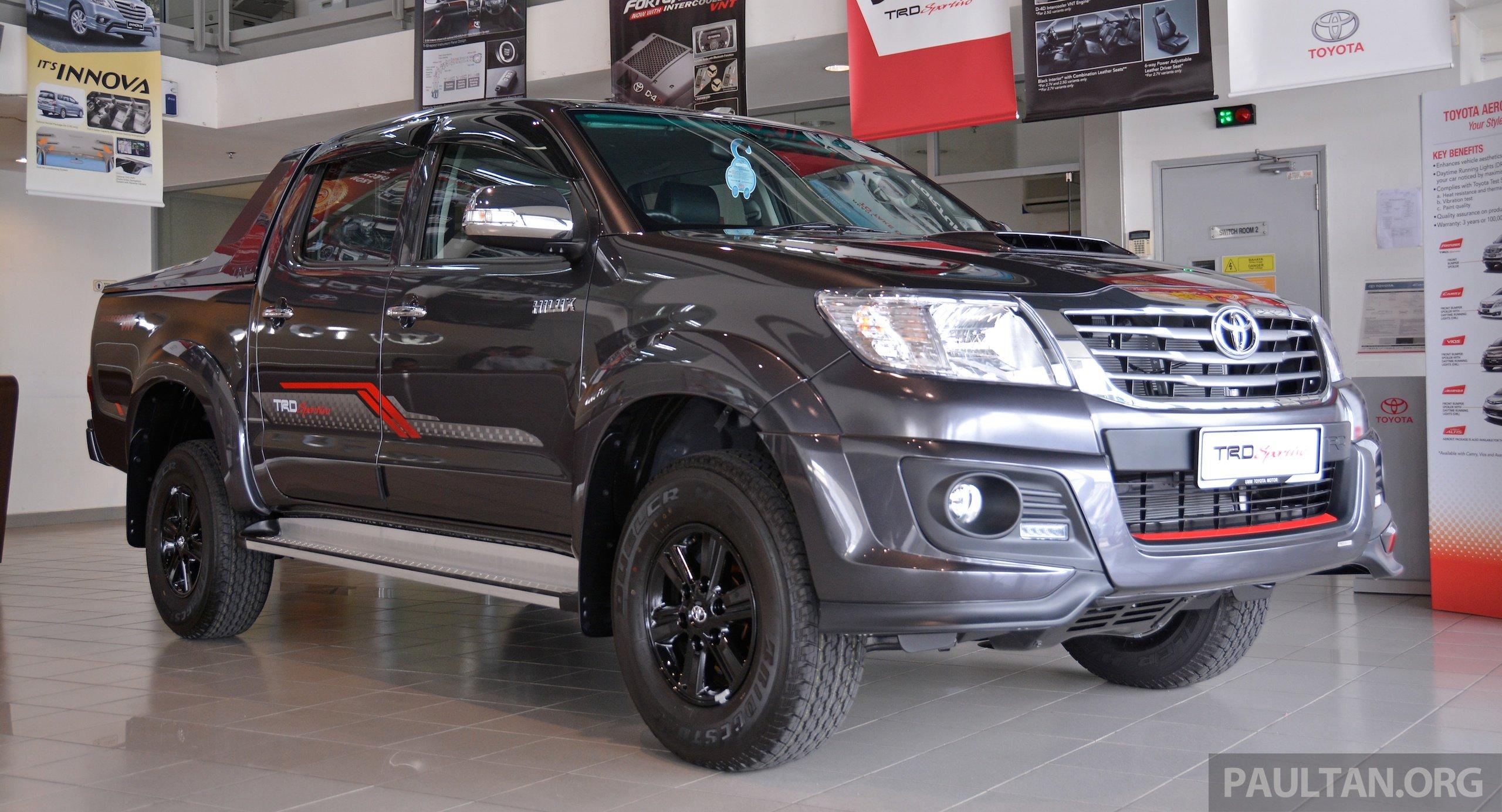 Gallery 2015 Toyota Hilux Trd Sportivo More Aggressive Looks Racier Interior For New