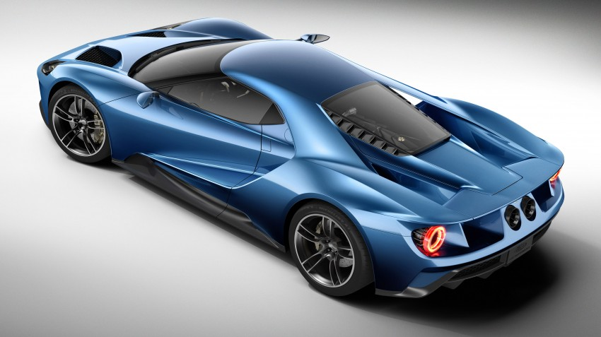 Ford GT roars back to life with 600 hp 3.5 EcoBoost V6 Image #302593