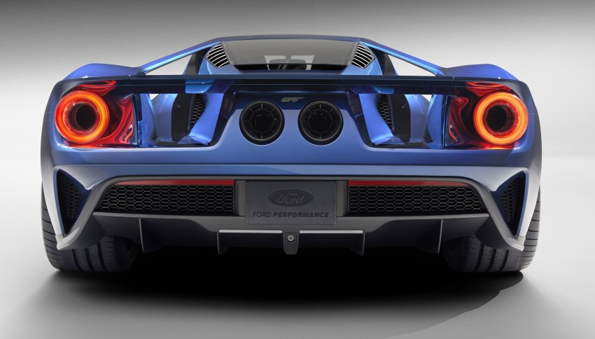 Ford GT roars back to life with 600 hp 3.5 EcoBoost V6 Image #302595