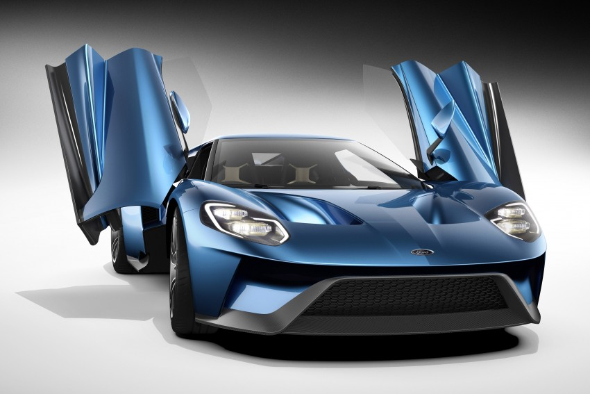 Ford GT roars back to life with 600 hp 3.5 EcoBoost V6 Image #302841