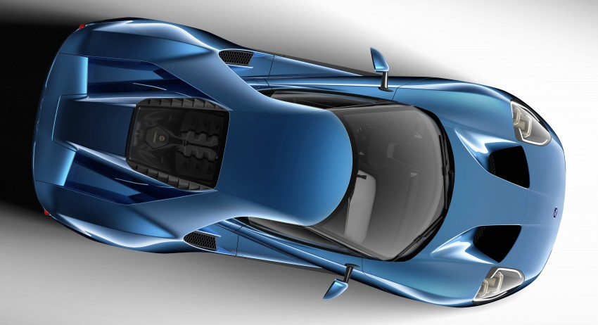 Ford GT roars back to life with 600 hp 3.5 EcoBoost V6 Image #302596