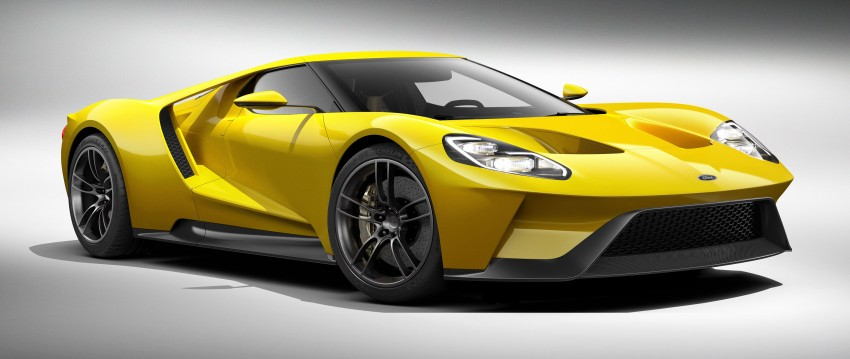 Ford GT roars back to life with 600 hp 3.5 EcoBoost V6 Image #302591