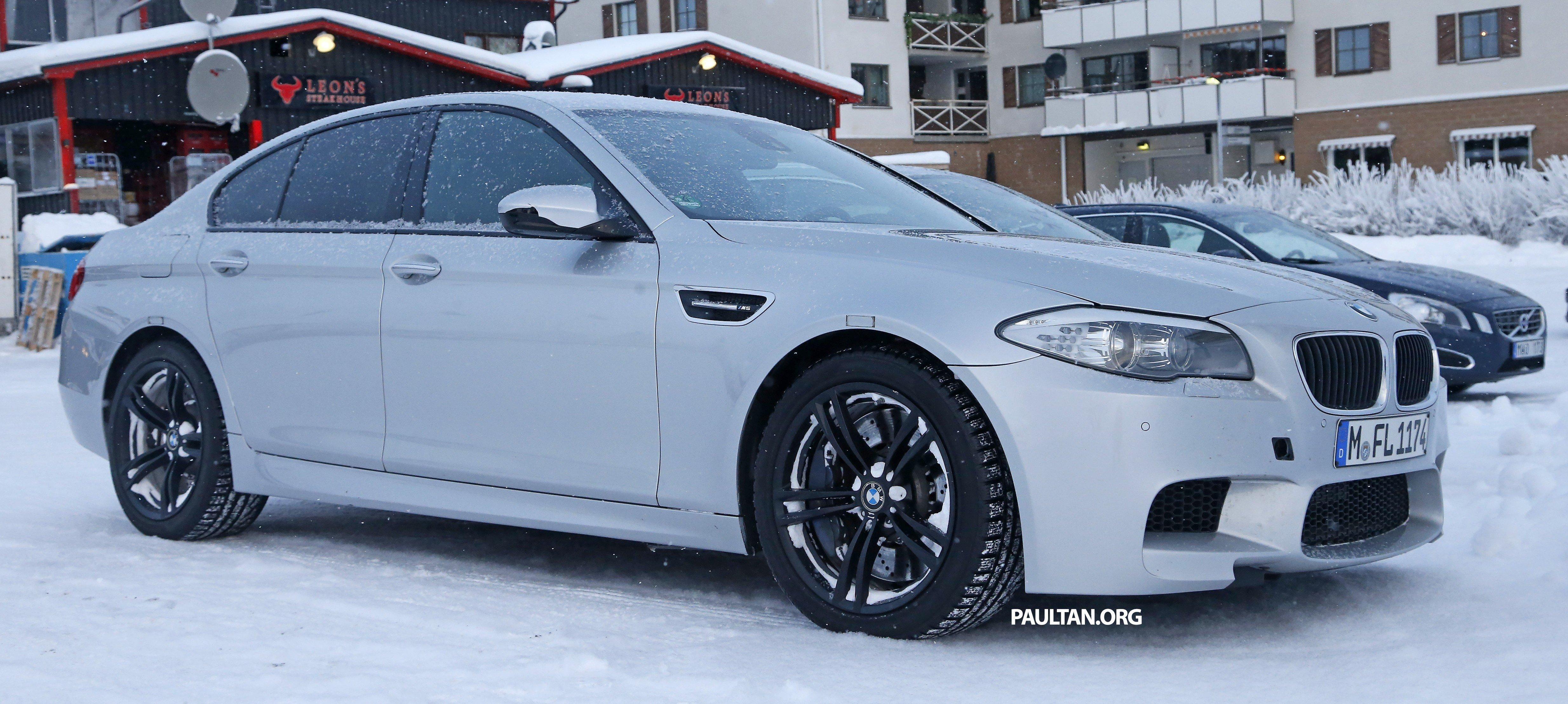 SPIED: BMW M5 xDrive prototype becomes reality Paul Tan ...