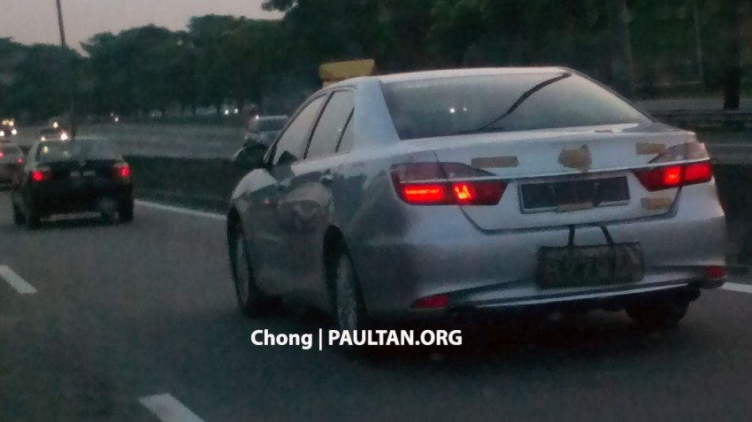 SPIED: Toyota Camry facelift in Msia, launching soon? Image #306575