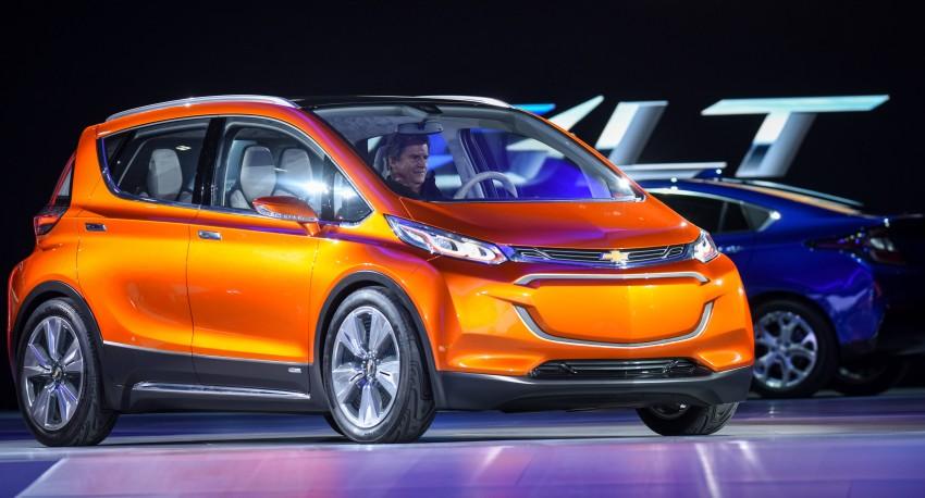 Chevrolet Bolt EV concept – US$30k, 320 km range Image #302736