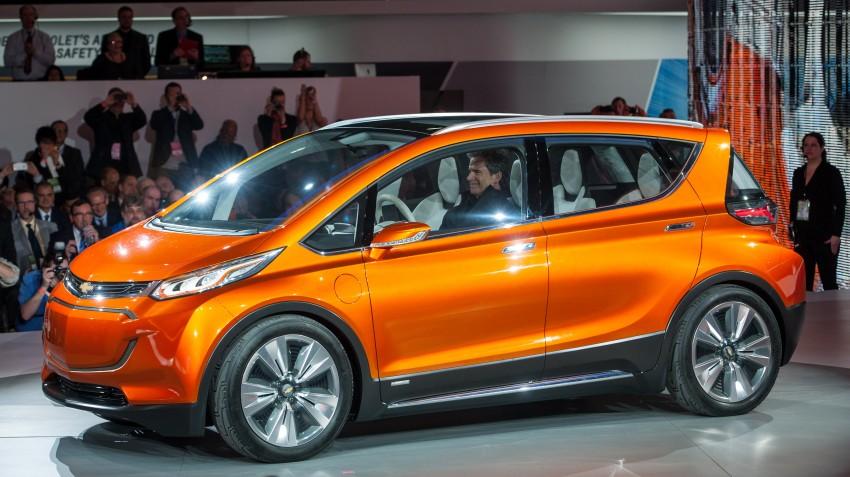 Chevrolet Bolt EV concept – US$30k, 320 km range Image #302740