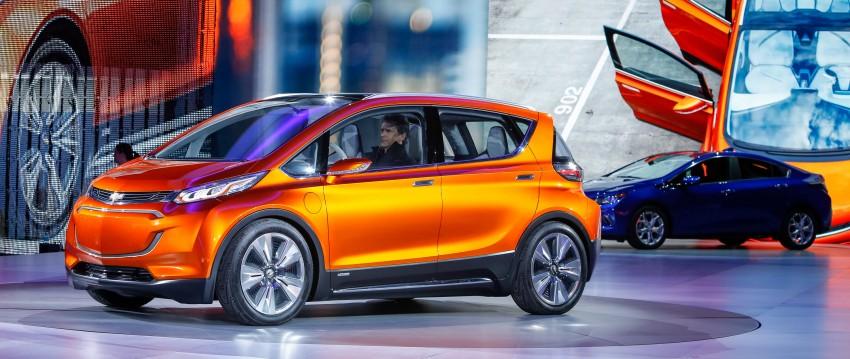Chevrolet Bolt EV concept – US$30k, 320 km range Image #302739