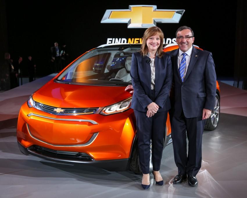 Chevrolet Bolt EV concept – US$30k, 320 km range Image #302738
