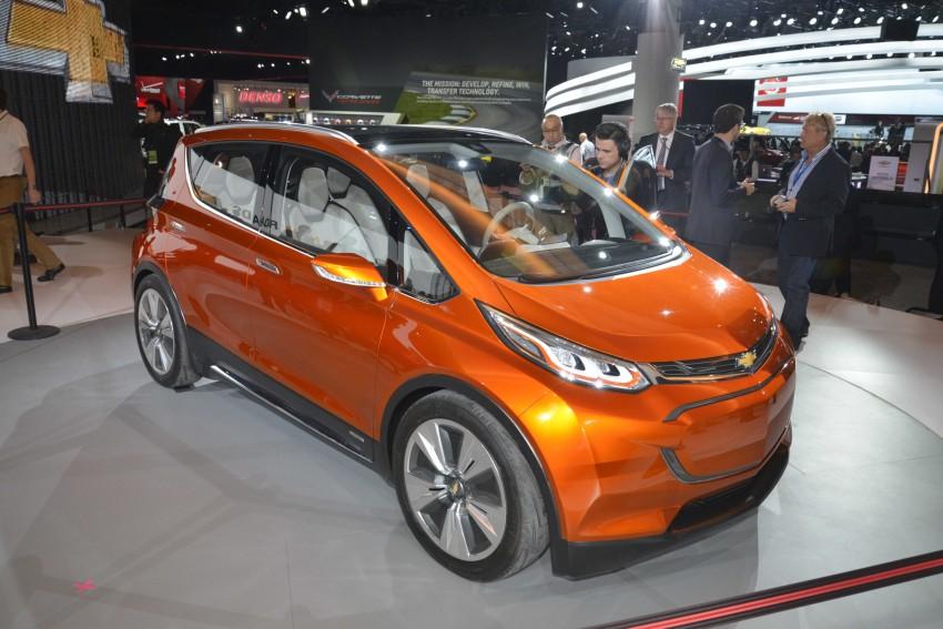 Chevrolet Bolt EV concept – US$30k, 320 km range Image #302868