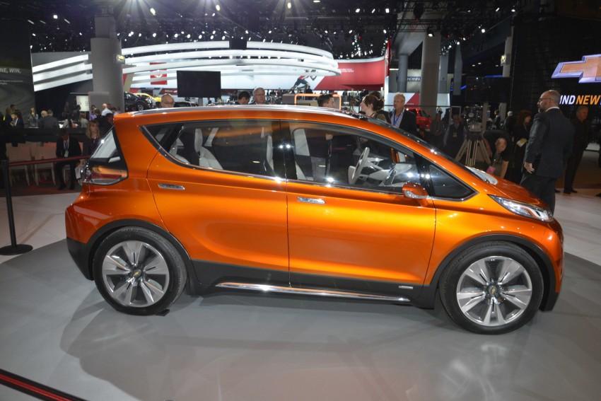 Chevrolet Bolt EV concept – US$30k, 320 km range Image #302867