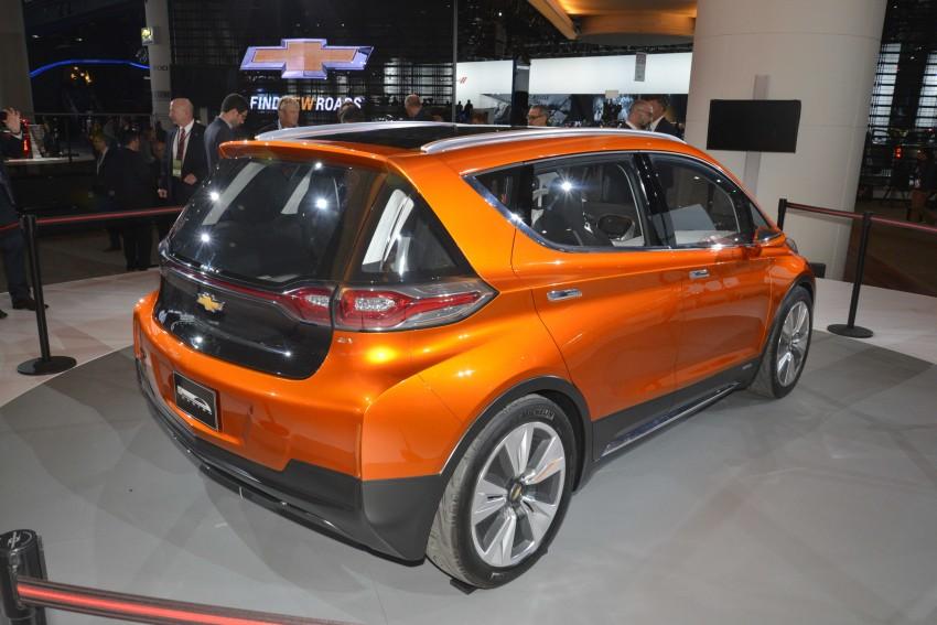 Chevrolet Bolt EV concept – US$30k, 320 km range Image #302866