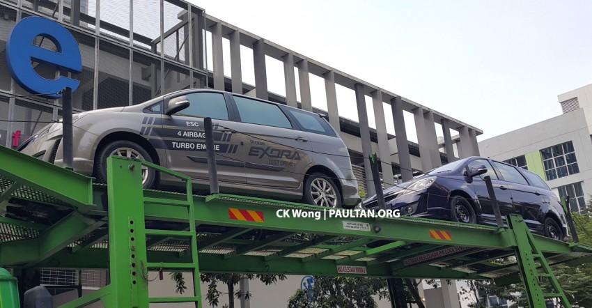 SPIED: 2015 Proton Exora facelift – ESC, four airbags! Image #307327