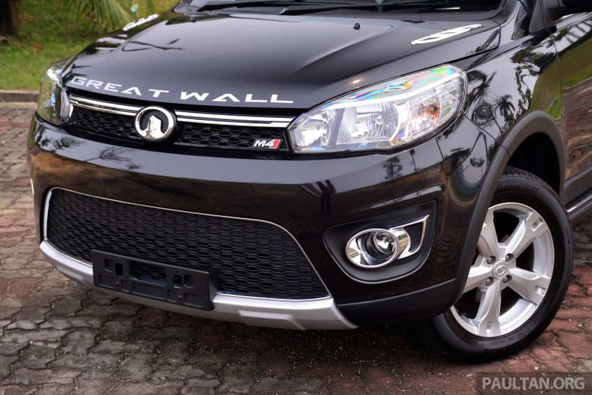 Great Wall M4 – CKD variants officially launched Image #306990