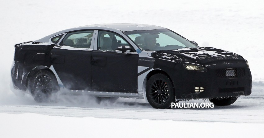 2016 Kia Optima to debut in April with sharper styling Image #309968