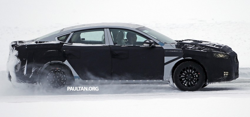 2016 Kia Optima to debut in April with sharper styling Image #309967