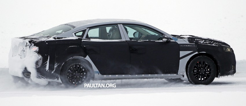 2016 Kia Optima to debut in April with sharper styling Image #309965