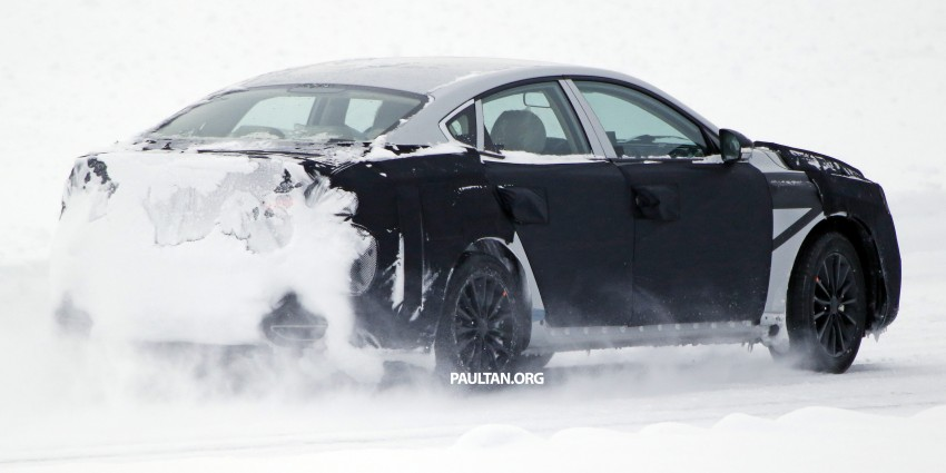 2016 Kia Optima to debut in April with sharper styling Image #309966