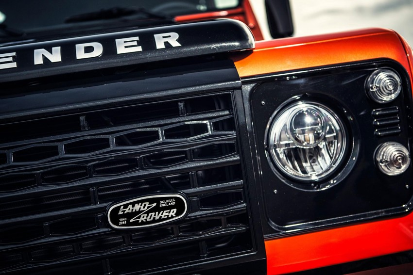 Three limited-edition Land Rover Defenders announced – Solihull production ends in Dec 2015 Image #300705