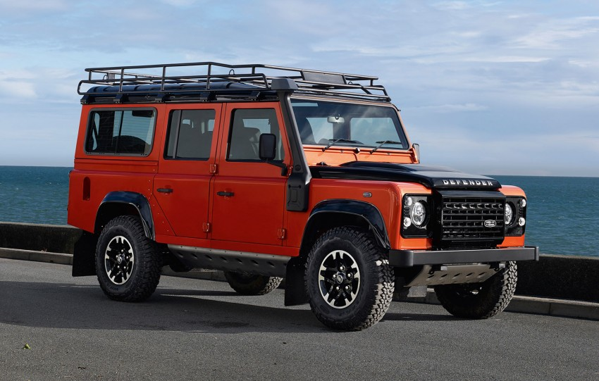 Three limited-edition Land Rover Defenders announced – Solihull production ends in Dec 2015 Image #300709