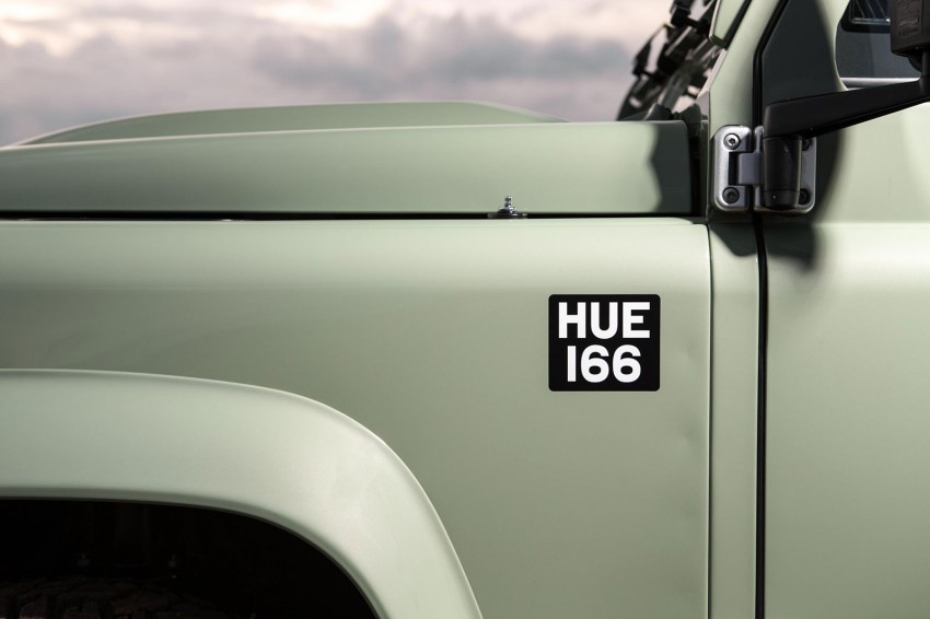Three limited-edition Land Rover Defenders announced – Solihull production ends in Dec 2015 Image #300717