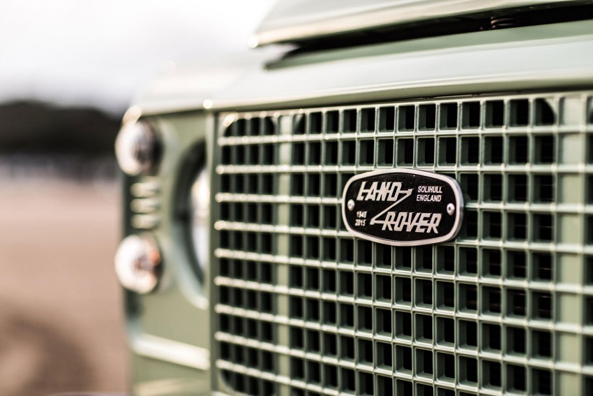 Three limited-edition Land Rover Defenders announced – Solihull production ends in Dec 2015 Image #300718