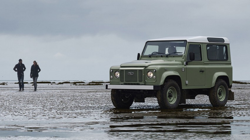 Three limited-edition Land Rover Defenders announced – Solihull production ends in Dec 2015 Image #300723