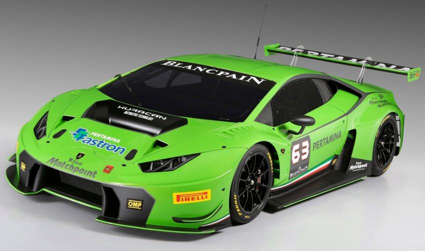 Lamborghini Huracan GT3 race car – Sant'Agata's first Image #306874