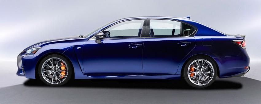 Lexus GS F –  477 PS super sedan makes Detroit debut Image #303310