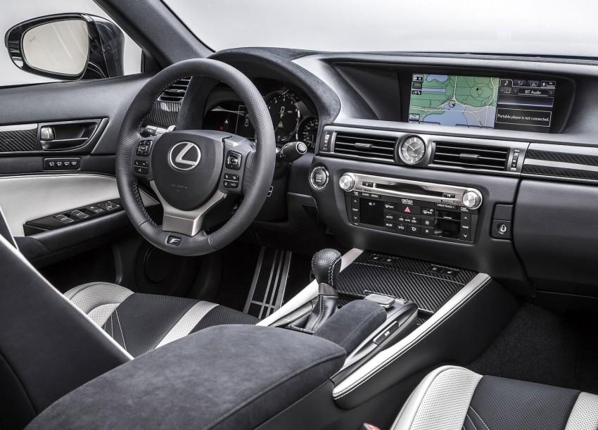 Lexus GS F –  477 PS super sedan makes Detroit debut Image #303323