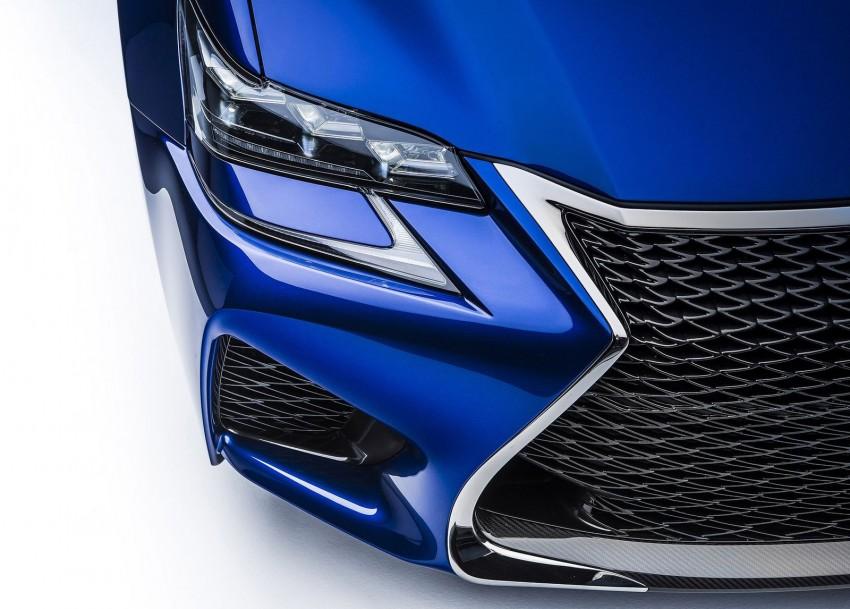 Lexus GS F –  477 PS super sedan makes Detroit debut Image #303327