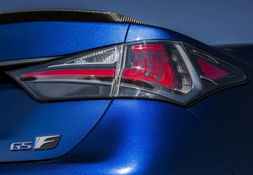 Lexus GS F –  477 PS super sedan makes Detroit debut Image #303328