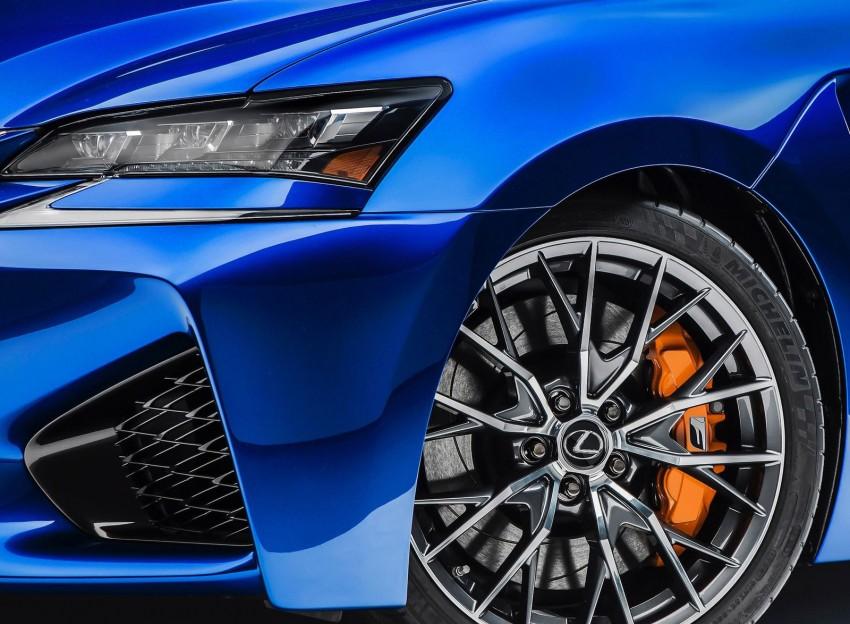 Lexus GS F –  477 PS super sedan makes Detroit debut Image #303330
