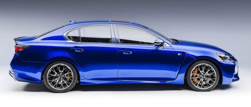 Lexus GS F –  477 PS super sedan makes Detroit debut Image #303333