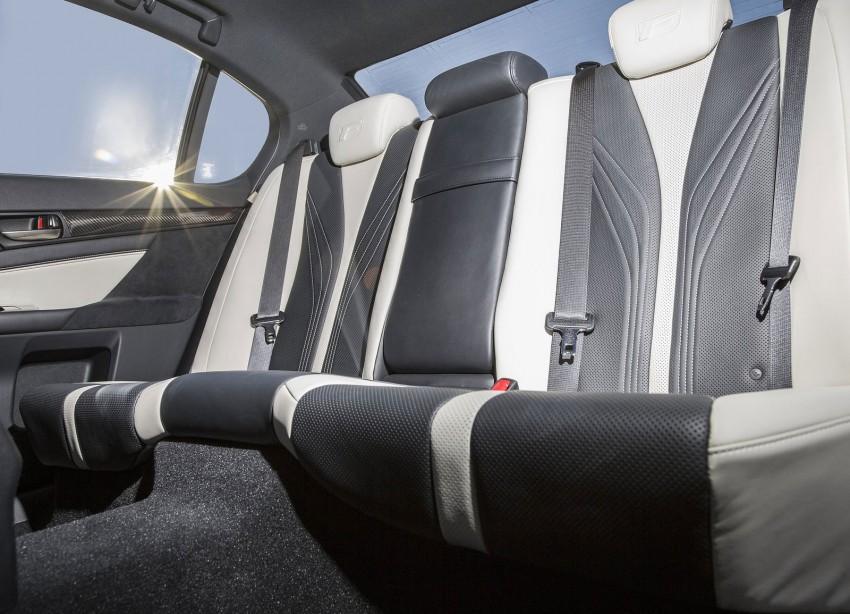 Lexus GS F –  477 PS super sedan makes Detroit debut Image #303338