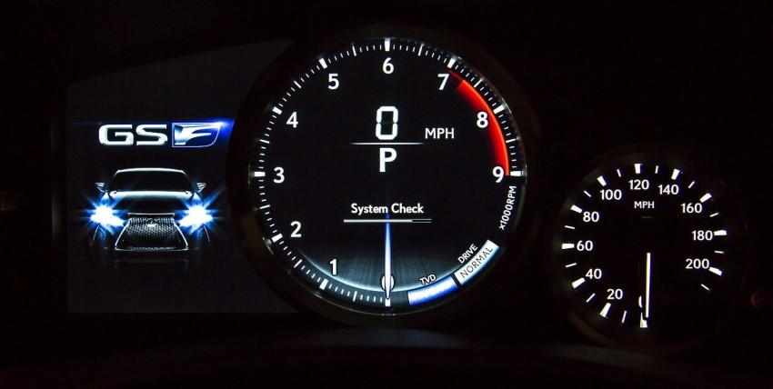Lexus GS F –  477 PS super sedan makes Detroit debut Image #303341