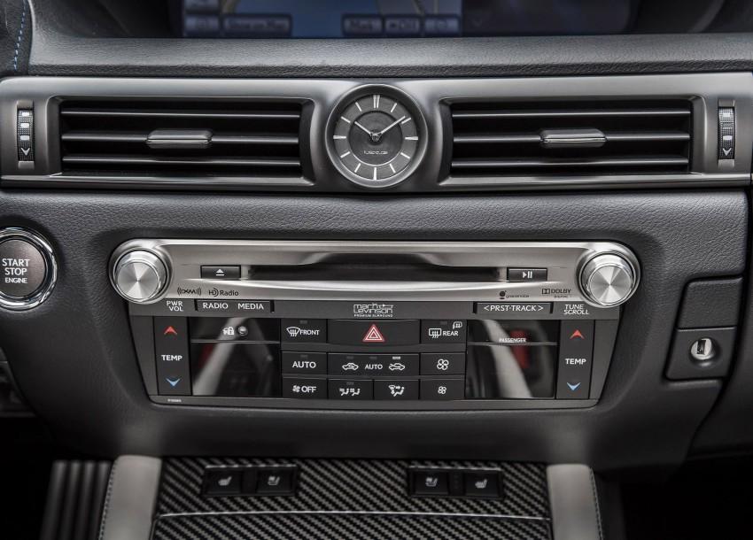 Lexus GS F –  477 PS super sedan makes Detroit debut Image #303343