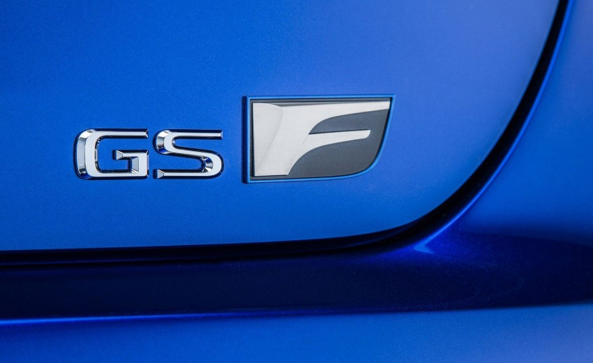 Lexus GS F –  477 PS super sedan makes Detroit debut Image #303349