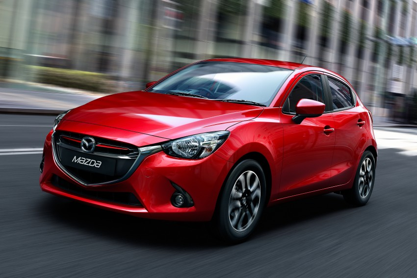 2015 Mazda 2 1.5 launched – hatch and sedan, RM88k Image #306045