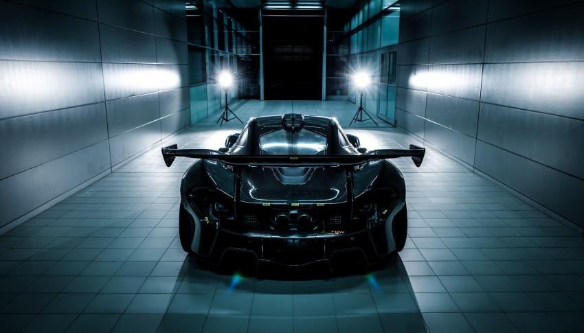 McLaren P1 GTR – production track monster teased Image #304572