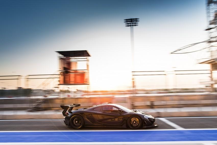 McLaren P1 GTR – production track monster teased Image #304574