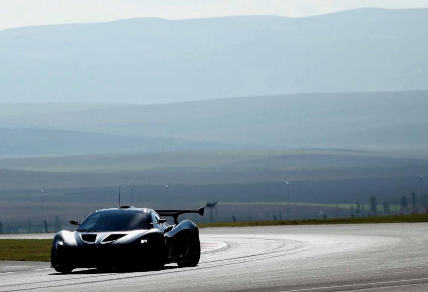 McLaren P1 GTR – production track monster teased Image #304577